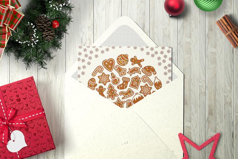 christmas-gingerbread-icon-set