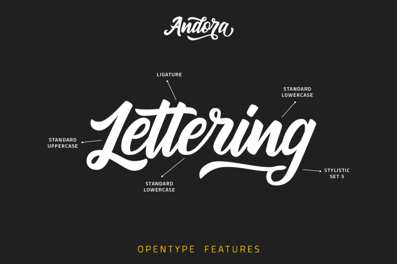 andora-typeface