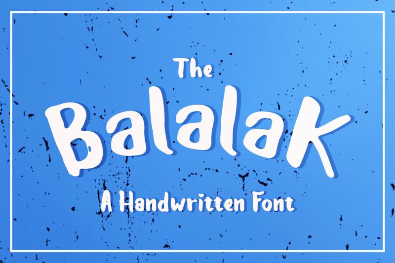 the-balalak-font-5-style