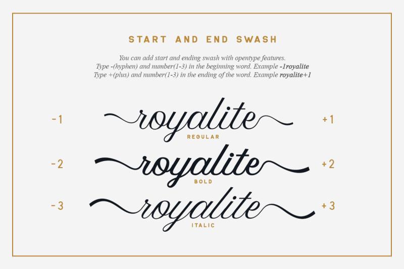 royalite-script-family