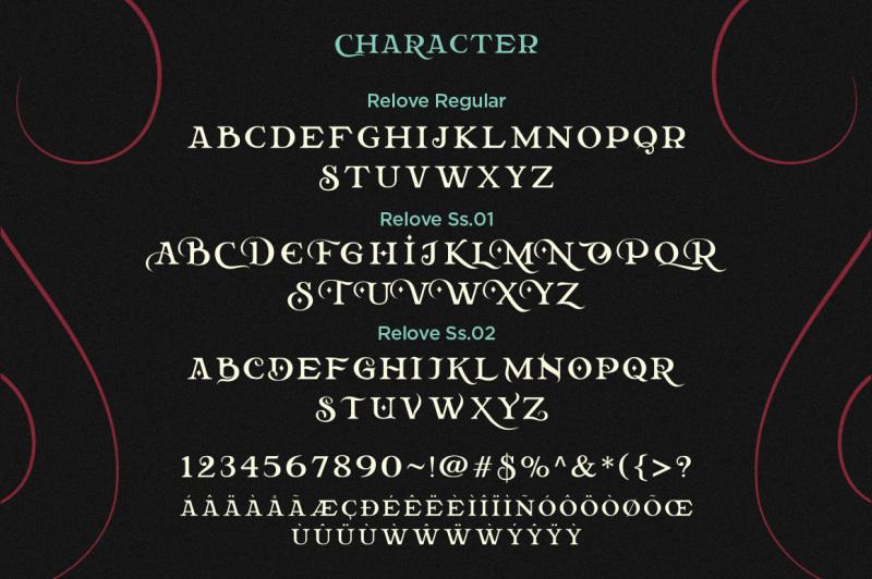 relove-typeface-extras