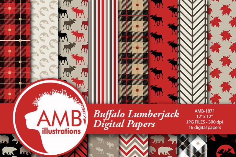 lumberjack-digital-pattern-paper-lumberjack-scrapbook-paper-rustic-digital-paper-plaid-gingham-amb-1871