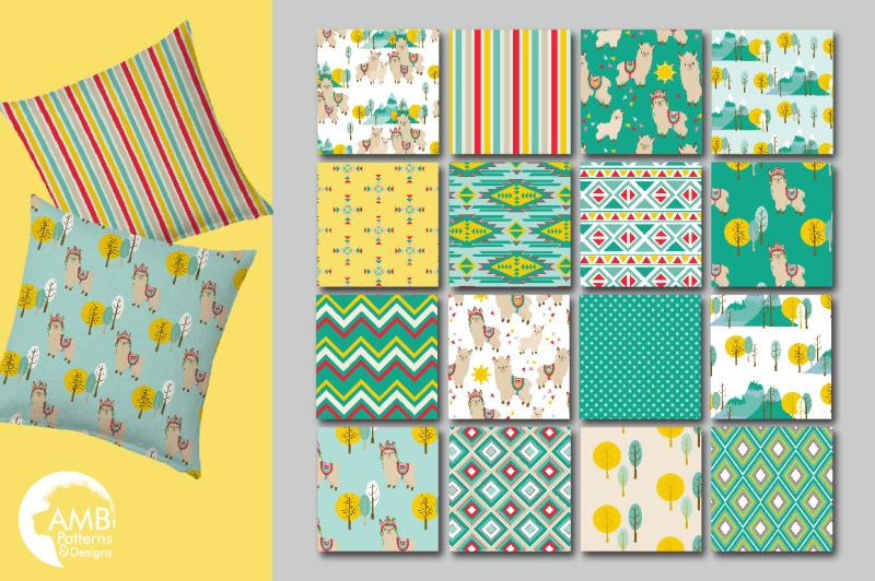 llama-alpaca-patterns-paper-designs-amb-1987