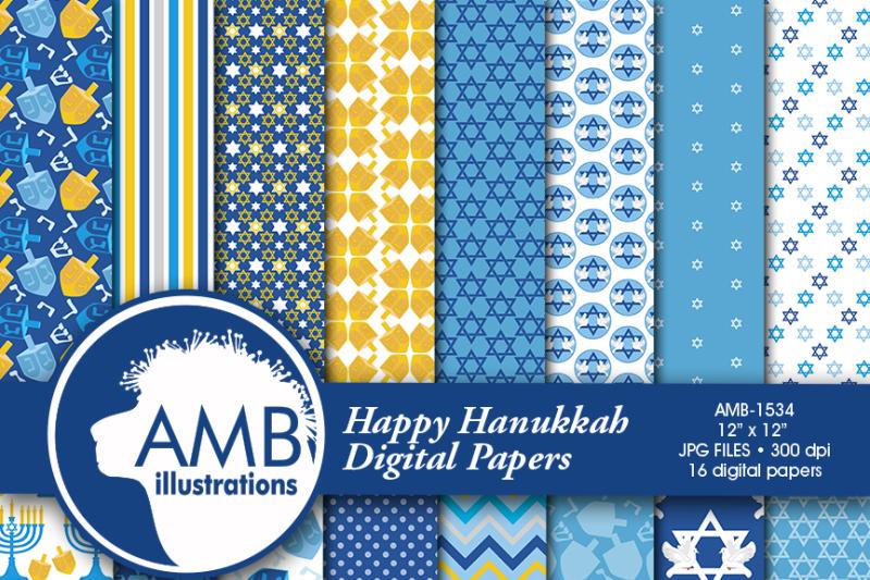 hanukkah-digital-paper-hanukkah-blue-star-of-david-chanukah-amb-1534