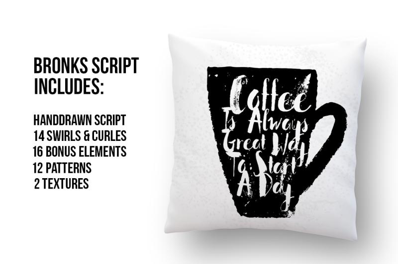 bronks-handpainted-script-extras