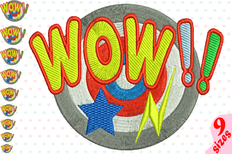 wow-comic-book-embroidery-design-machine-instant-download-commercial-use-digital-file-icon-symbol-sign-pop-word-art-speech-bubbles-superhero-bubbles-comics-speech-ballons-super-hero-146b