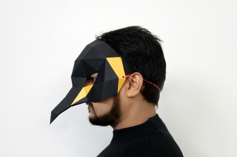 diy-penguin-mask-3d-papercraft