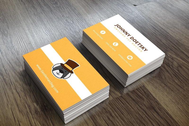 business-card-gentledog