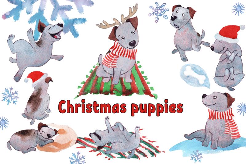 christmas-puppies
