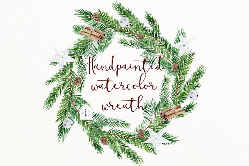 scandinavian-watercolor-wreath