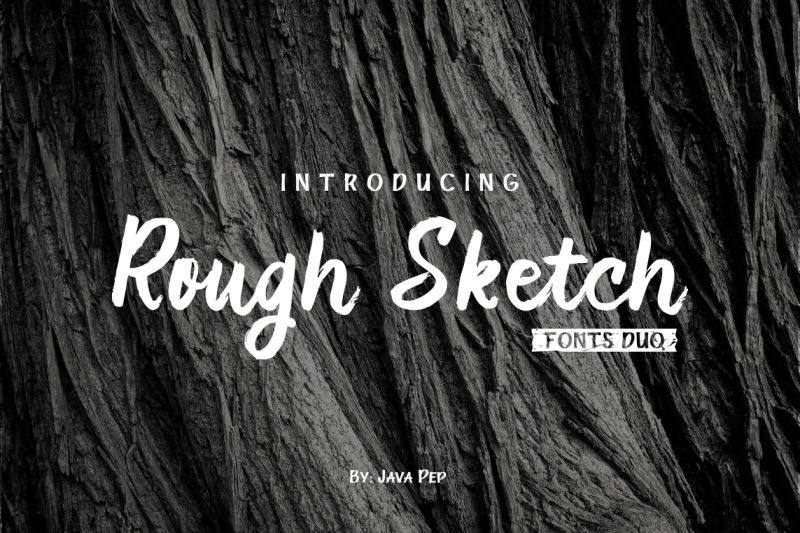 rough-sketch-fonts-duo