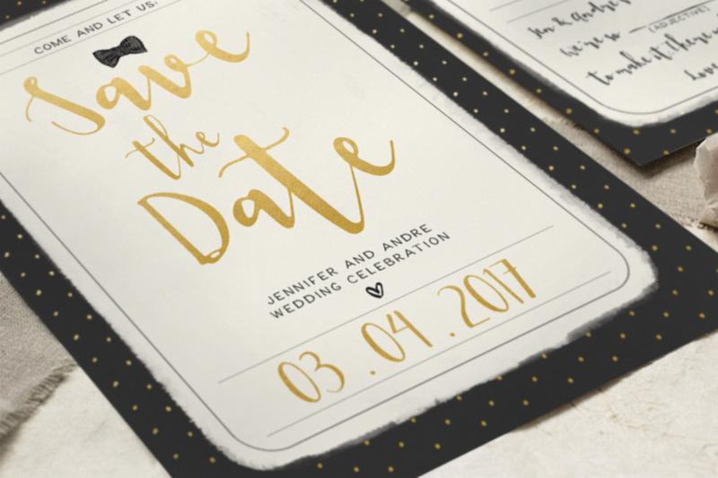 sweet-polka-dots-wedding-invitation-suite