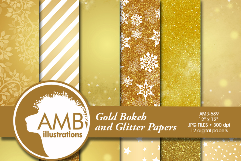 gold-bokeh-digital-papers-gold-glitter-papers-gold-scrapbook-papers-golden-papers-amb-589