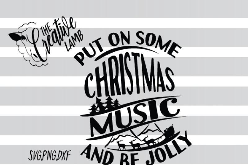 christmas-svg-christmas-music-svg-holiday-svg-jolly-svg