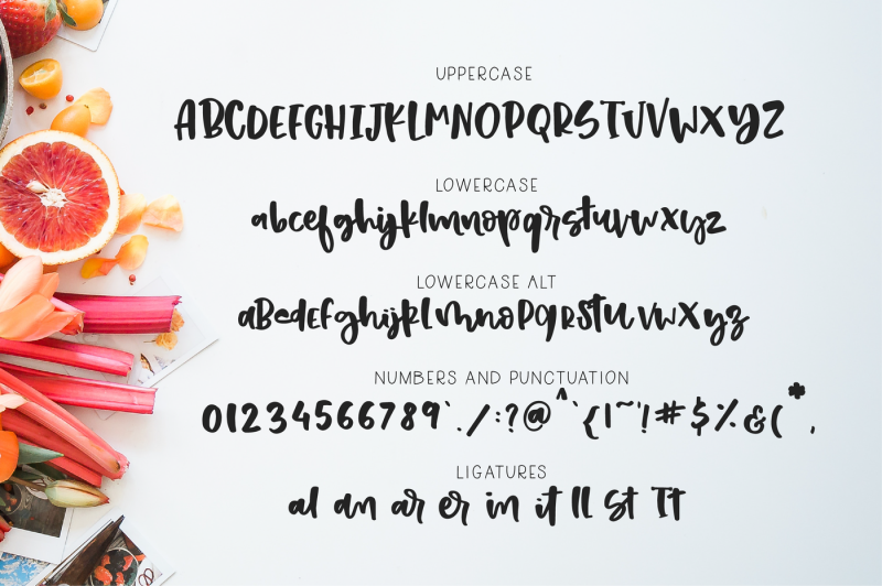 strawberry-shortcake-font-and-extras