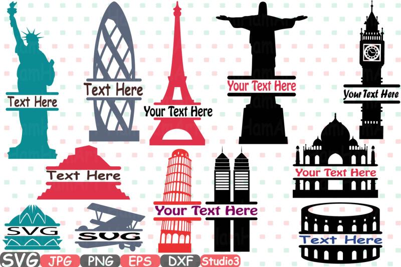 split-world-landmarks-svg-silhouette-travel-city-buildings-silhouette-svg-cutting-files-digital-clip-art-graphic-studio3-cricut-cuttable-die-cut-machines-vinyl-sale-rome-italy-new-york-london-paris-europe-america-sua-plane-france-brazil-pyramid-232s