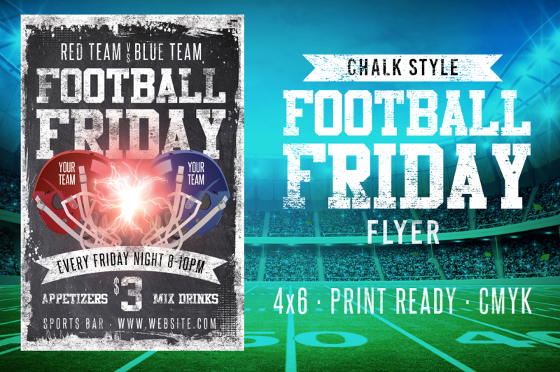 chalk-football-friday-flyer