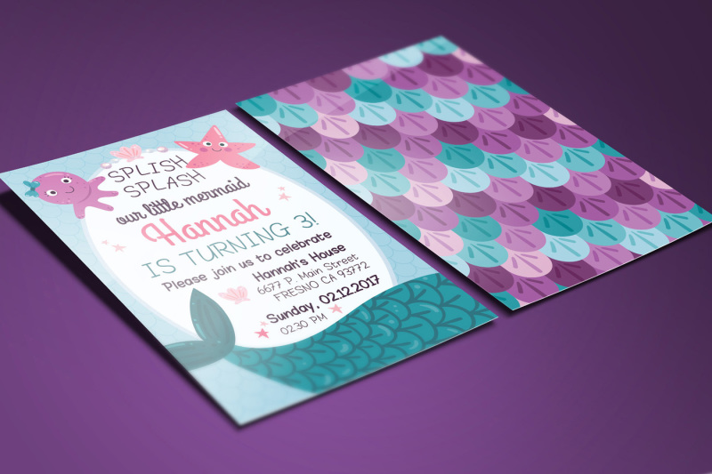 mermaid-birthday-card-invitation