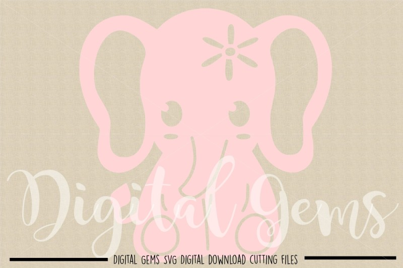 elephant-svg-dxf-eps-png-files