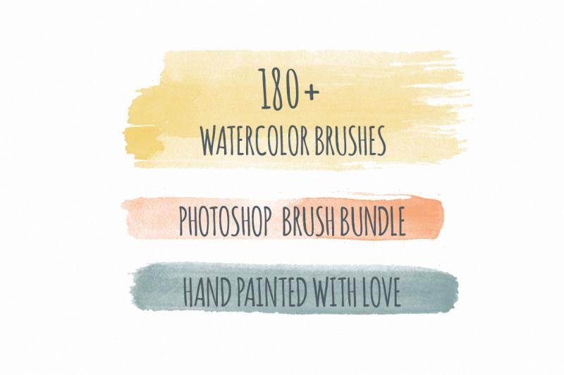 180-handmade-watercolor-ps-brushes
