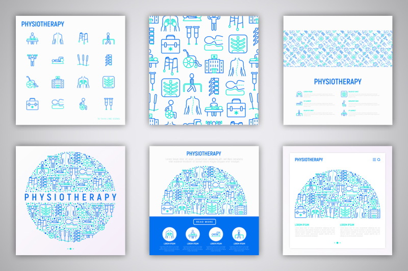 physiotherapy-icons-set-concept