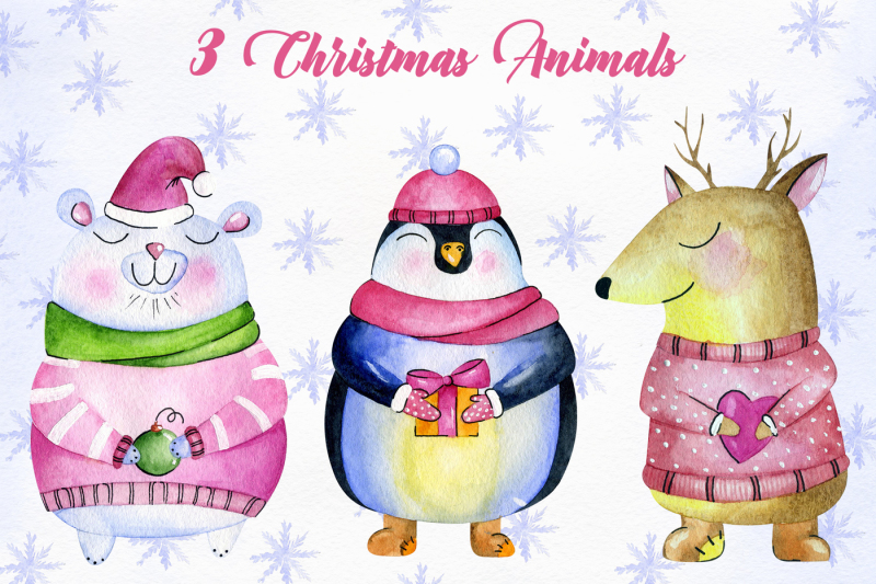 christmas-animals