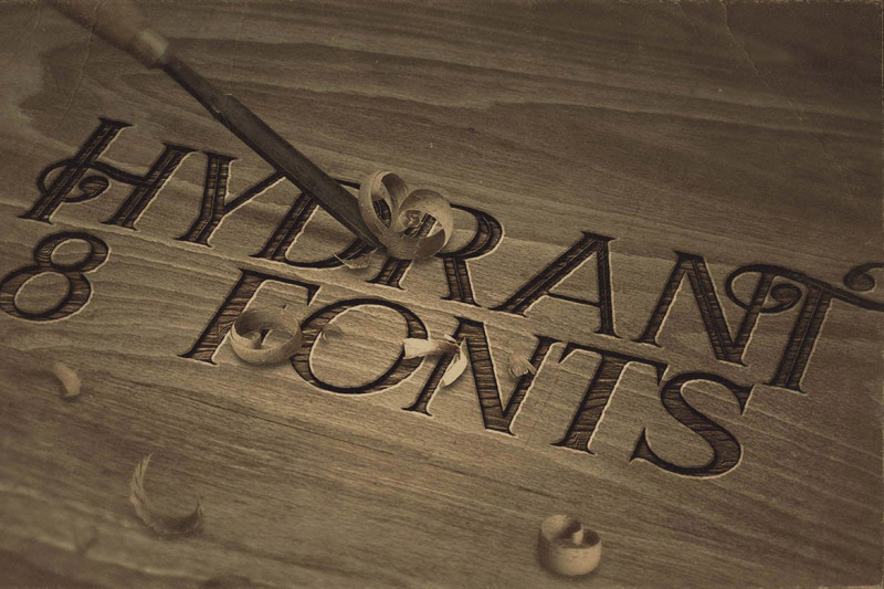 hydrant-vintage-style-font