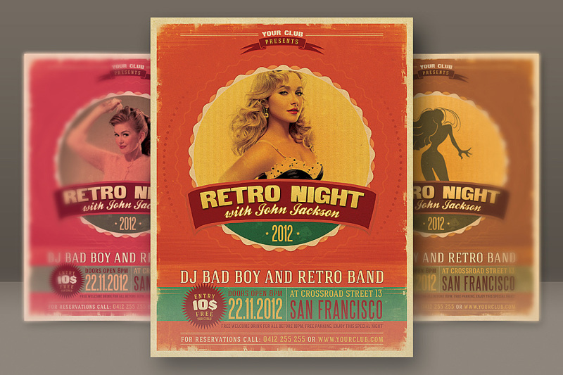 retro-style-party-flyer