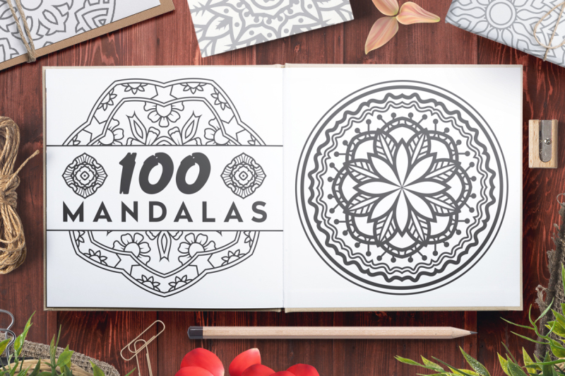 100-vector-mandala-ornaments