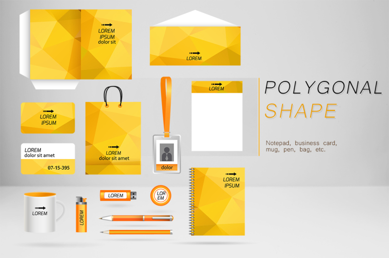 stationary-with-brand-design-set