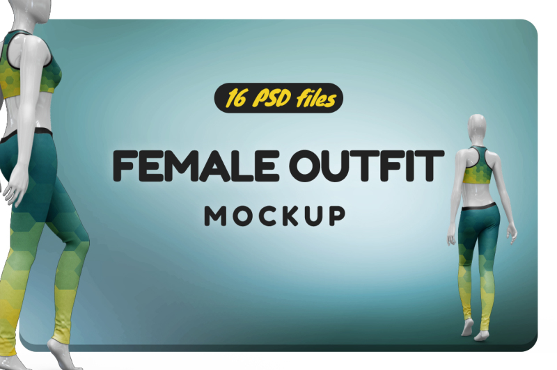 Free Female Outfit Vol.1 Mockup (PSD Mockups)