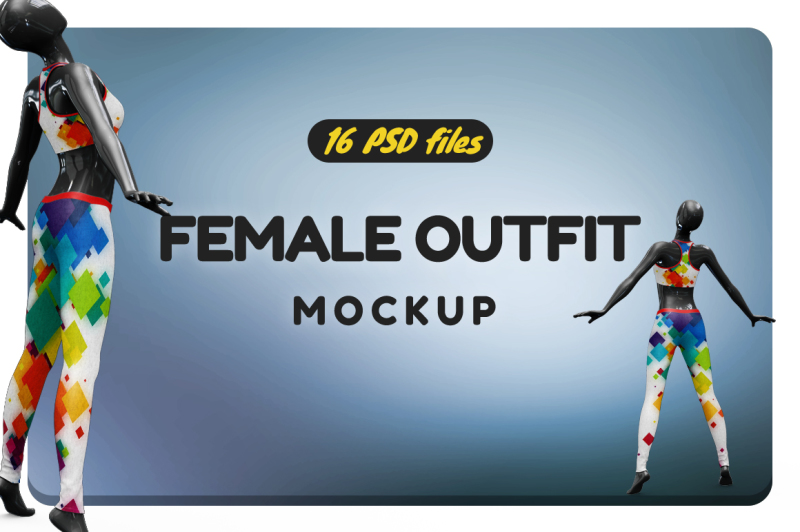 Free Female Outfit Vol.2 Mockup (PSD Mockups)
