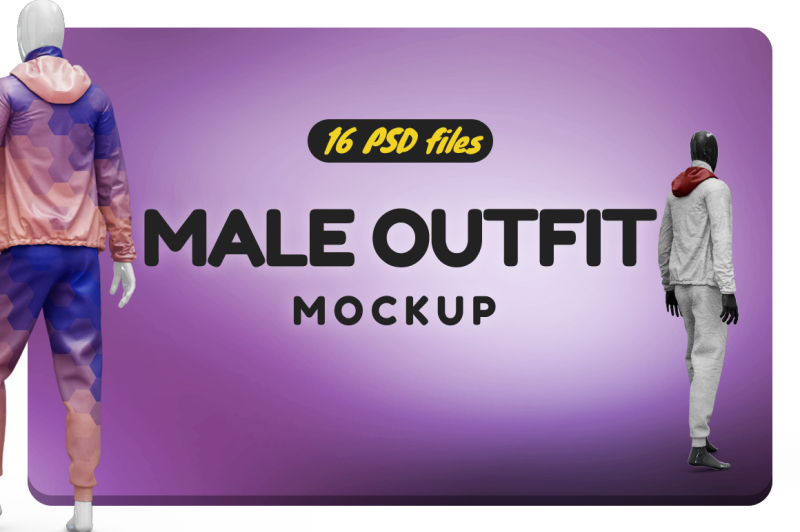 Free Male Outfit Vol.2 Mockup (PSD Mockups)