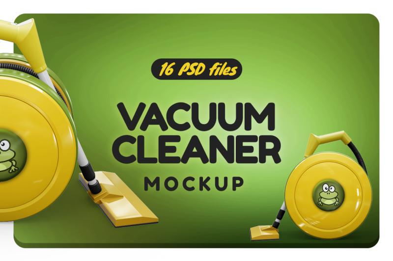 Free Vacuum Cleaner Mockup (PSD Mockups)