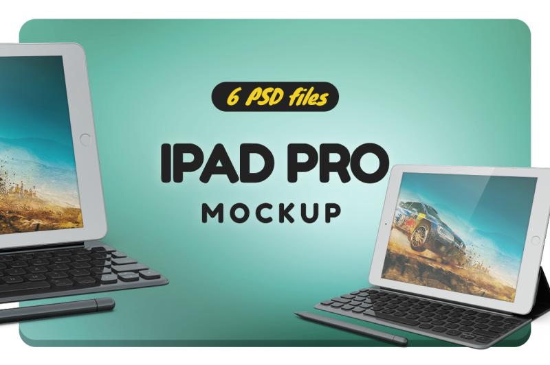 Free iPad Pro 9.7 Mockup (PSD Mockups)