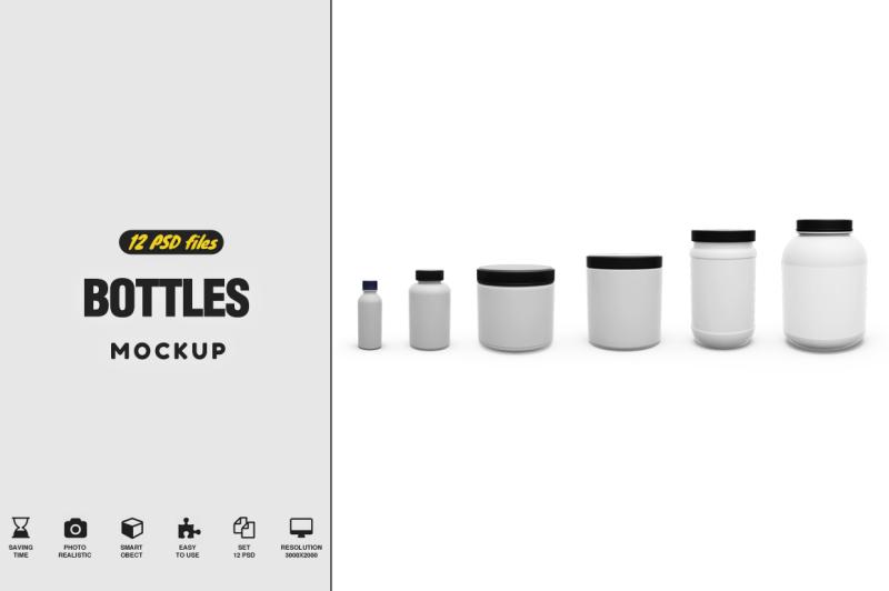 Download Bottled Mockup Free Mockups