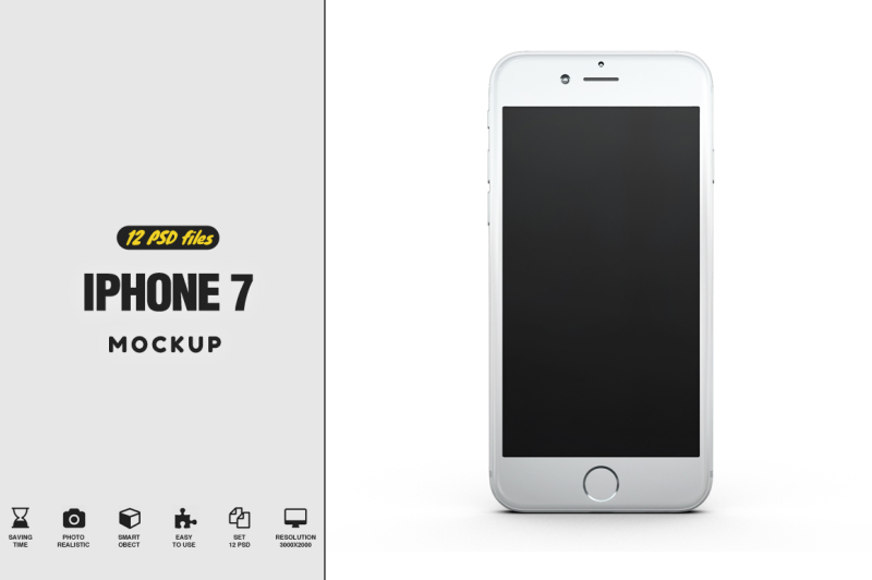 Free iPhone 7 Mockup (PSD Mockups)