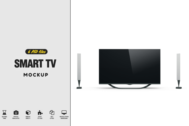 Free Smart TV 46 (PSD Mockups)