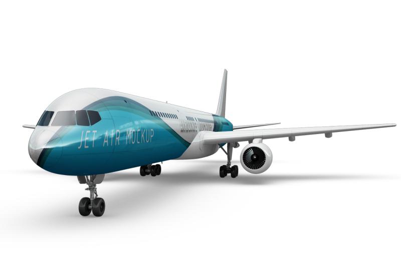 jet-airplane-mockup