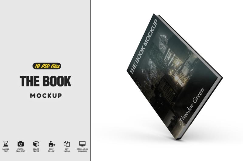 Free The Book Mockup Vol.2 (PSD Mockups)