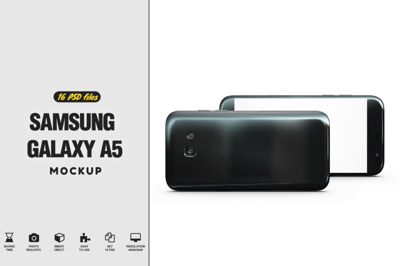 Free Samsung Galaxy A5 Mockup (PSD Mockups)