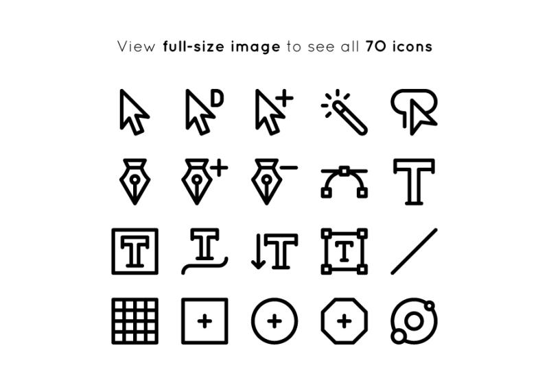 bold-adobe-illustrator-tools-icons