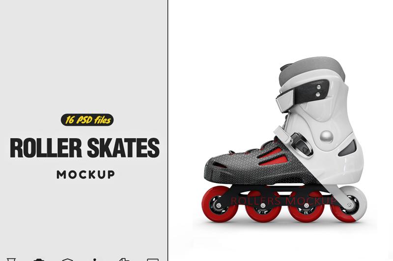 Free RollerBlade Mockup (PSD Mockups)