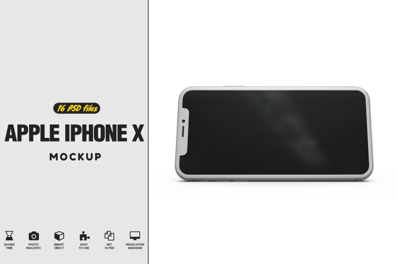 Free iPhone X Vol.3 Mockup (PSD Mockups)
