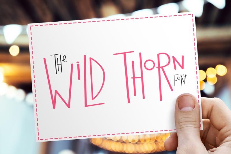 wild-thorn-font