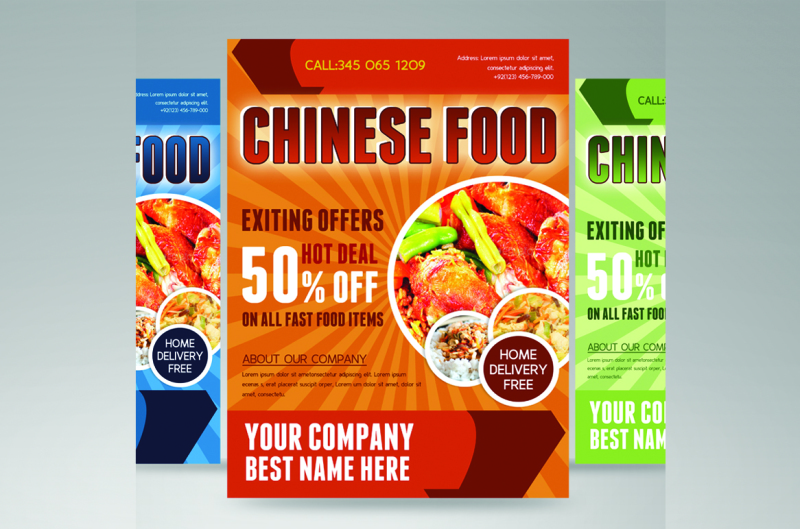 food-flyer-template