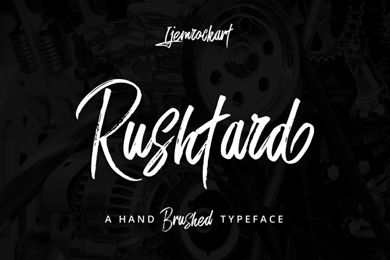 rushtard-brush