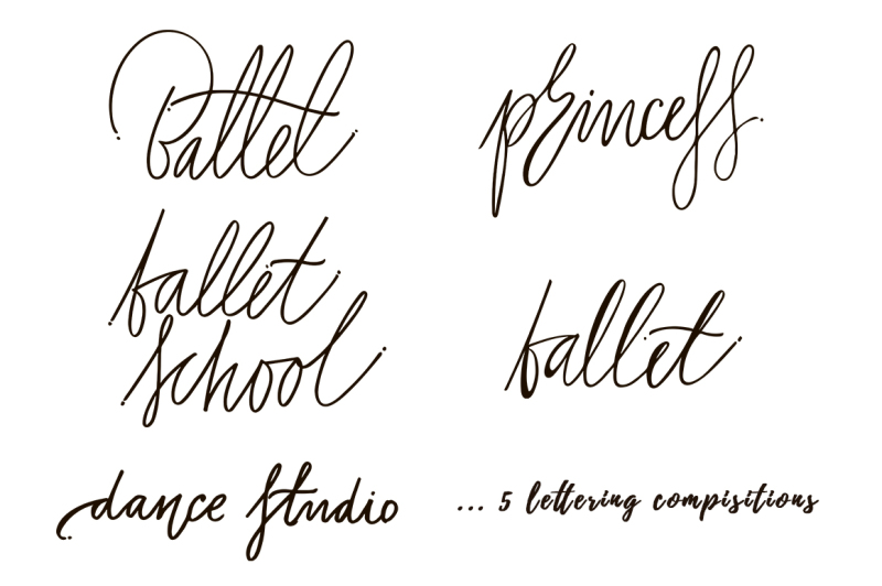 4-ballerinas-with-lettering