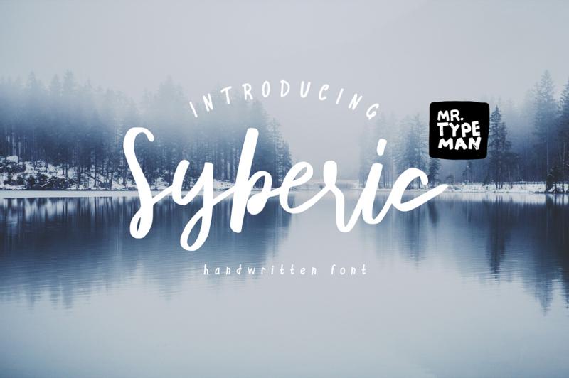 syberic-handwritten-script