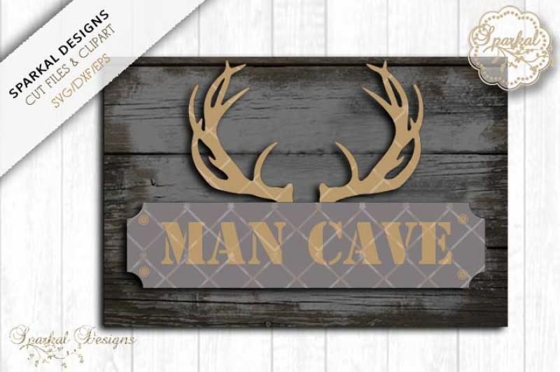 man-cave-sign-stencil-cut-file